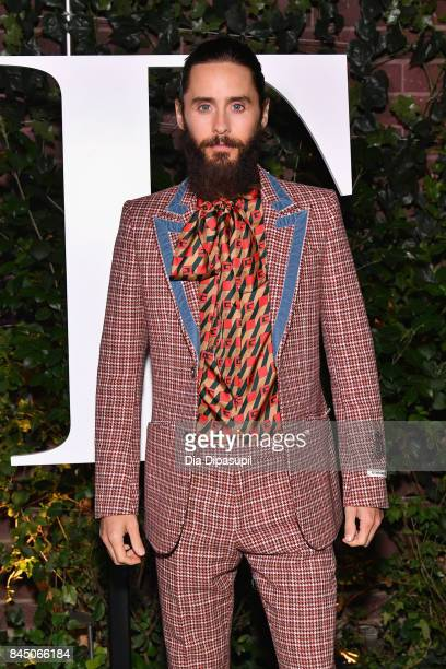 Jared Leto arrives at the #BoF500 gala dinner during New York Fashion Week Spring/Summer 2018 at Public Hotel on September 9 2017 in New York City