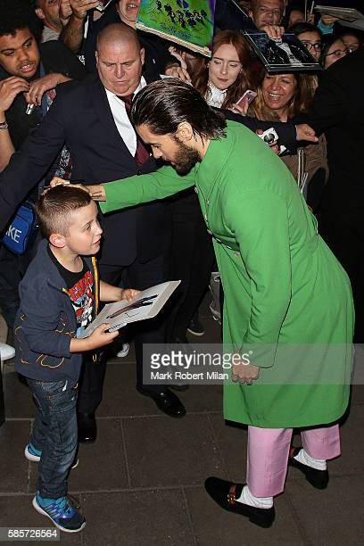 Jared Leto at Claridges Hotel on August 3 2016 in London England