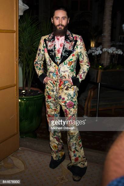 Jared Leto attends 2017 Harper's Bazaar Icons at The Plaza Hotel on September 8 2017 in New York City