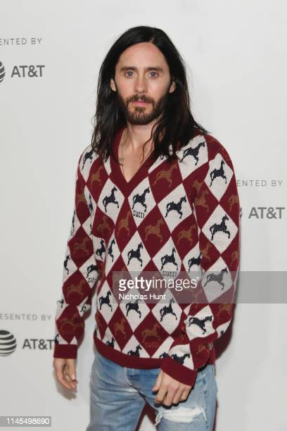 """Jared Leto attends """"A Day In The Life Of America"""" screening at the 2019 Tribeca Film Festival at BMCC Tribeca PAC on April 27, 2019 in New York City."""