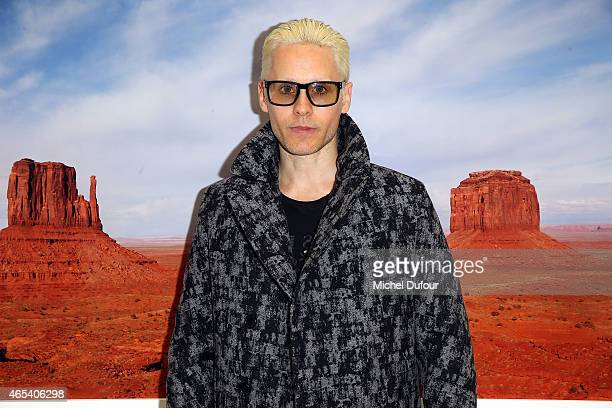Jared Leto attends Art Exibibition At Galerie Perrotin as part of the Paris Fashion Week Womenswear Fall/Winter 2015/2016 on March 6 2015 in Paris...