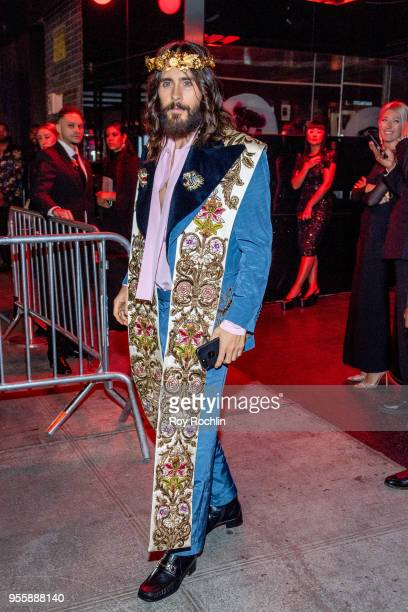 Jared Leto attends Heavenly Bodies: Fashion & The Catholic Imagination Costume Institute Gala after party at the Standard Hotel on May 7, 2018 in New...