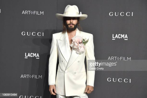 Jared Leto attends LACMA Art Film Gala 2018 at Los Angeles County Museum of Art on November 3 2018 in Los Angeles CA