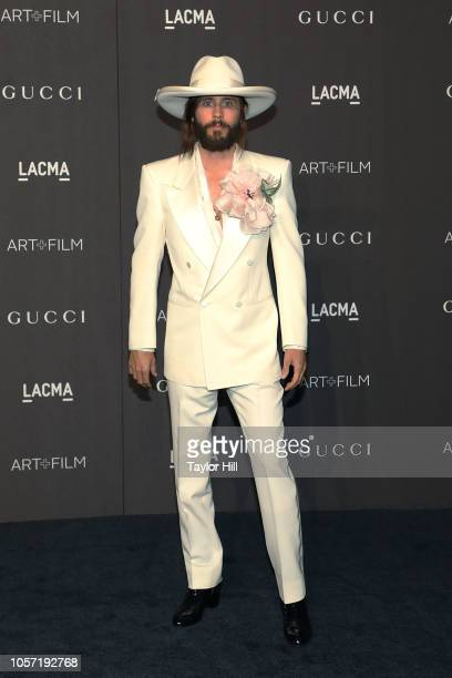 Jared Leto attends the 2018 LACMA ArtFilm Gala at LACMA on November 3 2018 in Los Angeles California