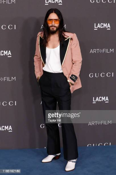 Jared Leto attends the 2019 LACMA Art Film Gala at LACMA on November 02 2019 in Los Angeles California