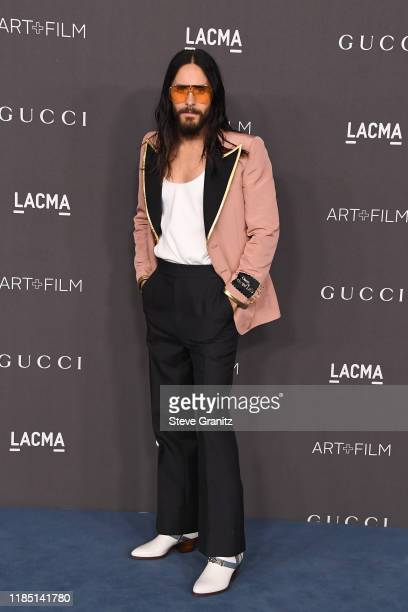 Jared Leto attends the 2019 LACMA Art Film Gala Presented By Gucci at LACMA on November 02 2019 in Los Angeles California