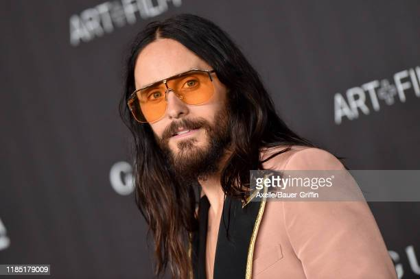 Jared Leto attends the 2019 LACMA Art Film Gala Presented By Gucci on November 02 2019 in Los Angeles California