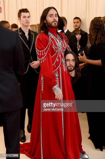 Jared Leto attends The 2019 Met Gala Celebrating Camp Notes on Fashion at Metropolitan Museum of Art on May 06 2019 in New York City