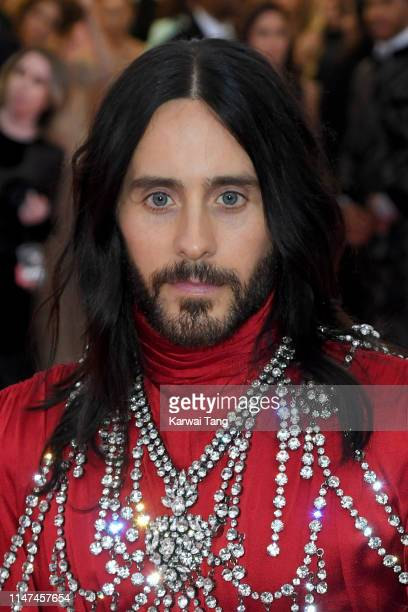 Jared Leto attends The 2019 Met Gala Celebrating Camp Notes On Fashion at The Metropolitan Museum of Art on May 06 2019 in New York City