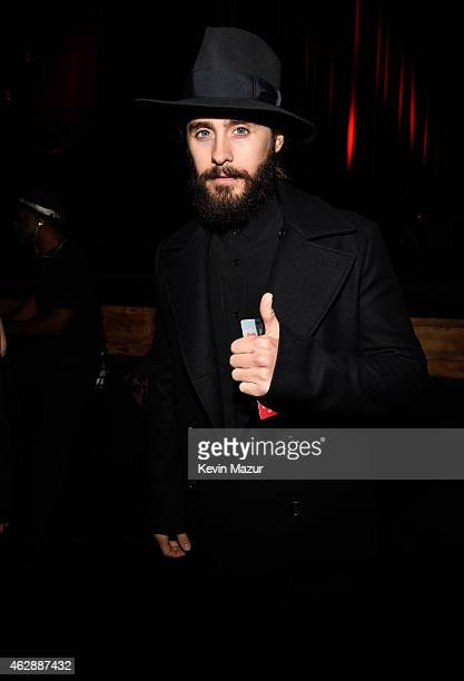 Jared Leto attends the 25th anniversary MusiCares 2015 Person Of The Year Gala honoring Bob Dylan at the Los Angeles Convention Center on February 6...