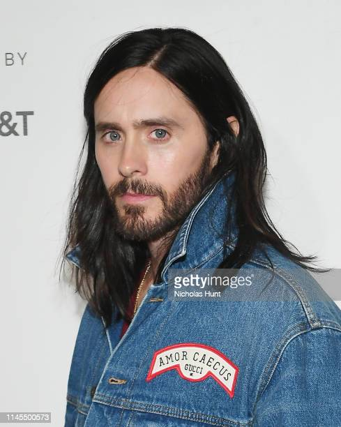 Jared Leto attends the A Day In The Life Of America screening at the 2019 Tribeca Film Festival at BMCC Tribeca PAC on April 27 2019 in New York City