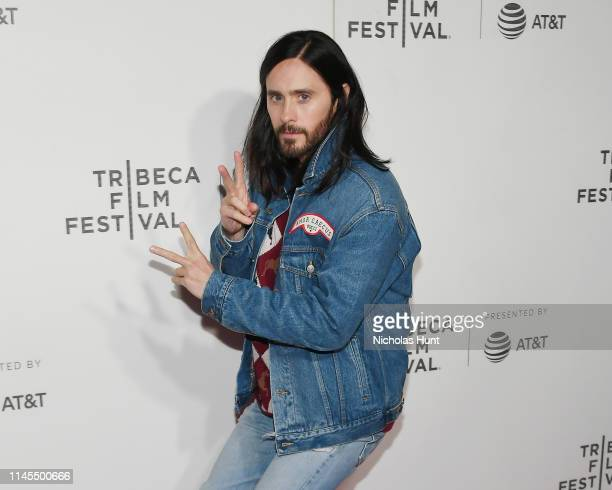 """Jared Leto attends the """"A Day In The Life Of America"""" screening at the 2019 Tribeca Film Festival at BMCC Tribeca PAC on April 27, 2019 in New York..."""