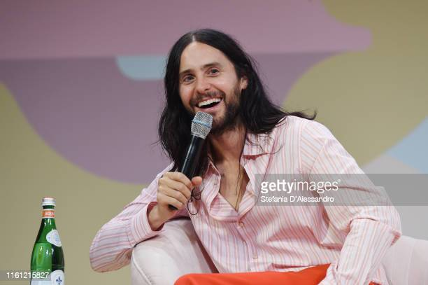 Jared Leto attends the Fast Company European Innovation Festival Powered by Gucci on July 10 2019 in Milan Italy