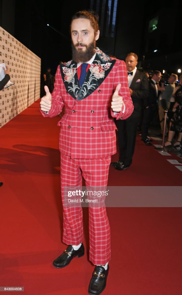 Jared Leto attends the GQ Men Of The Year Awards at the Tate Modern on September 5, 2017 in London, England.