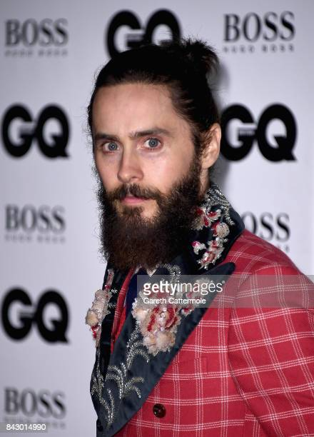 Jared Leto attends the GQ Men Of The Year Awards at the Tate Modern on September 5 2017 in London England