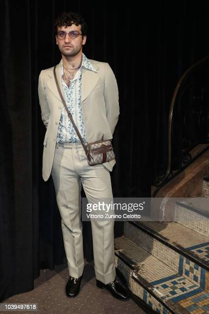Jared Leto attends the Gucci show during Paris Fashion Week Spring/Summer 2019 on September 24 2018 in Paris France