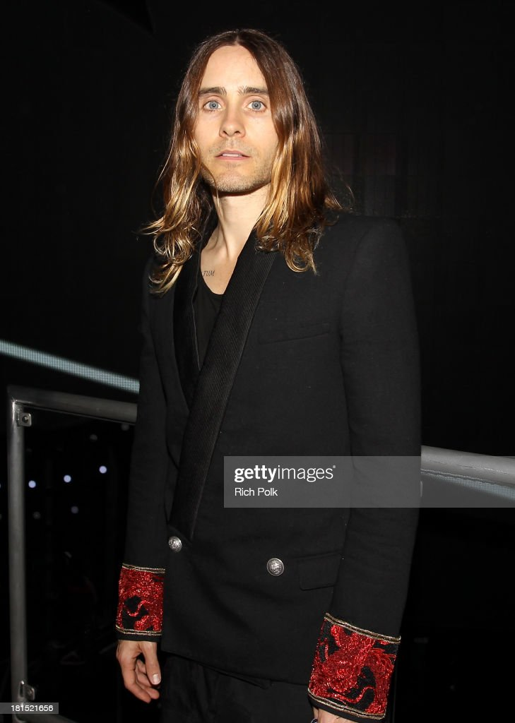 Jared Leto attends the iHeartRadio Music Festival at the MGM Grand Garden Arena on September 21, 2013 in Las Vegas, Nevada.