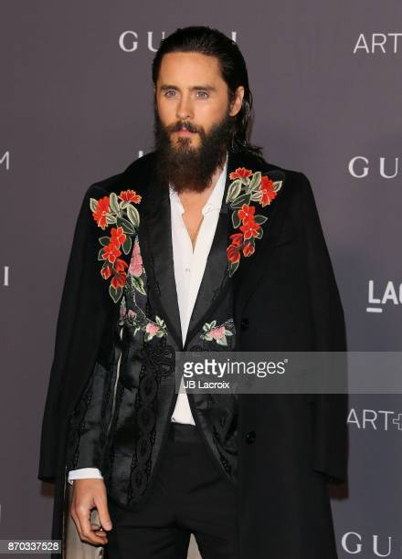 Jared Leto attends the LACMA Art + Film Gala honoring Mark Bradford and George Lucas on November 04, 2017 in Los Angeles, California.