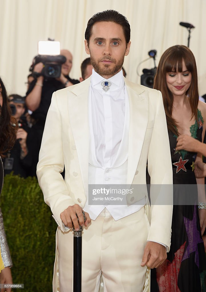 Jared Leto attends the 'Manus x Machina: Fashion In An Age Of Technology' Costume Institute Gala at Metropolitan Museum of Art on May 2, 2016 in New York City.