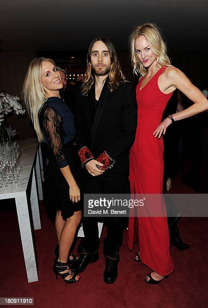 Jared Leto attends the Marie Claire 25th birthday celebration featuring Icons of Our Time in association with The Outnet at the Cafe Royal Hotel on...