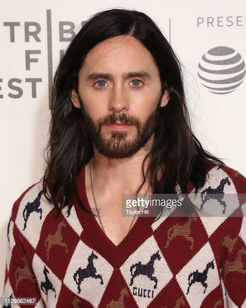 """Jared Leto attends the premiere of """"A Day in the Life"""" during the 2019 Tribeca Film Festival at Borough of Manhattan Community College on April 24,..."""