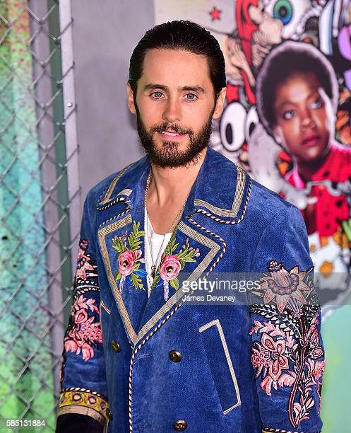 Jared Leto attends the Suicide Squad premiere at The Beacon Theatre on August 1 2016 in New York City