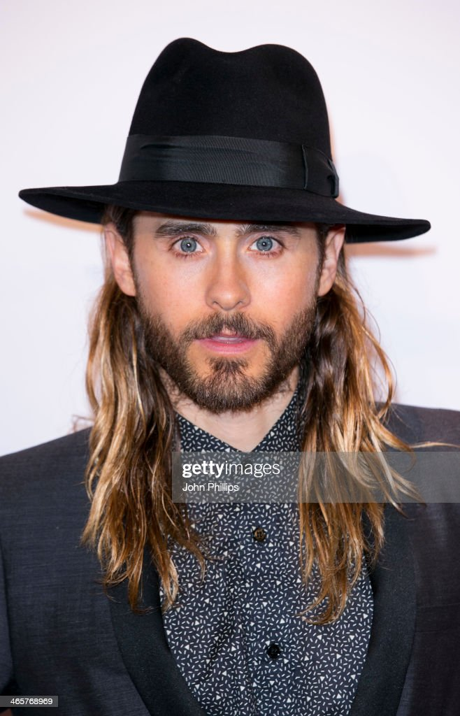 Jared Leto attends the UK Premiere of 'Dallas Buyers Club' at The Curzon Mayfair on January 29, 2014 in London, England.