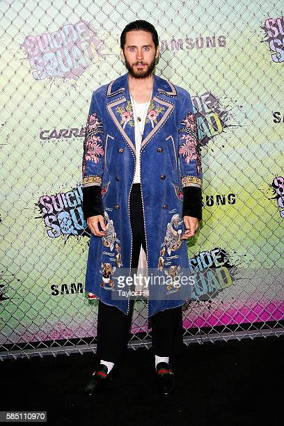Jared Leto attends the world premiere of 'Suicide Squad' at The Beacon Theatre on August 1 2016 in New York City