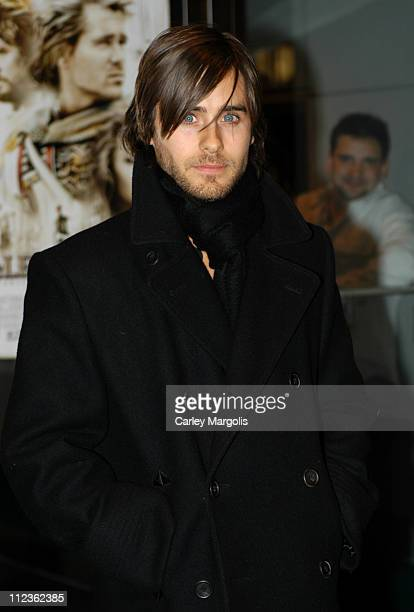"Jared Leto during ""Alexander"" New York Premiere at Walter Reade Theater in New York City, New York, United States."