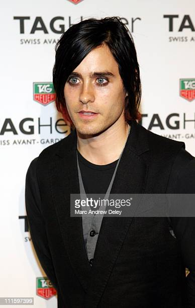 Jared Leto during Tag Heuer Party to Celebrate Women and Unsem Arrivals September 12 2006 at The Royalton in New York New York United States