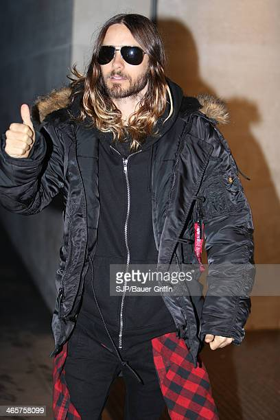 Jared Leto is seen on January 29 2014 in London United Kingdom
