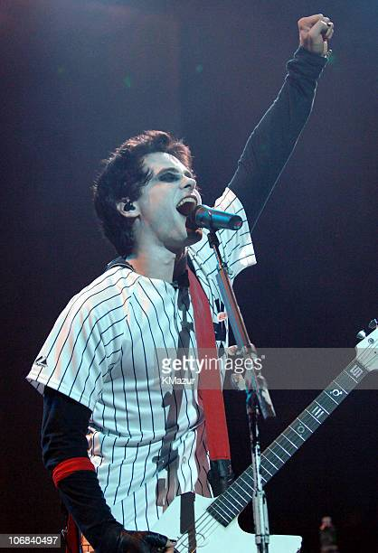 Jared Leto of 30 Seconds to Mars during Audioslave in Concert at Madison Square Garden in New York City October 29 2005 at Madison Square Garden in...