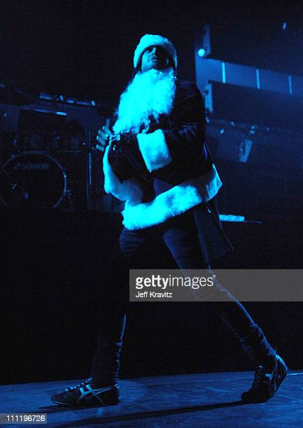 Jared Leto of 30 Seconds To Mars during KROQ Almost Acoustic Christmas 2006 Night 1 30 Seconds To Mars at Gibson Amphitheatre in Universal City...