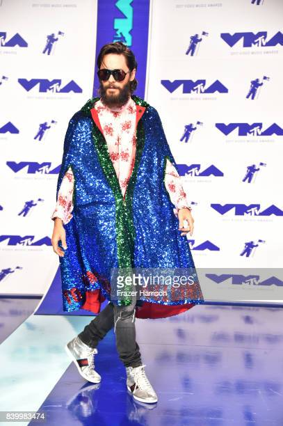 Jared Leto of Thirty Seconds to Mars attends the 2017 MTV Video Music Awards at The Forum on August 27 2017 in Inglewood California