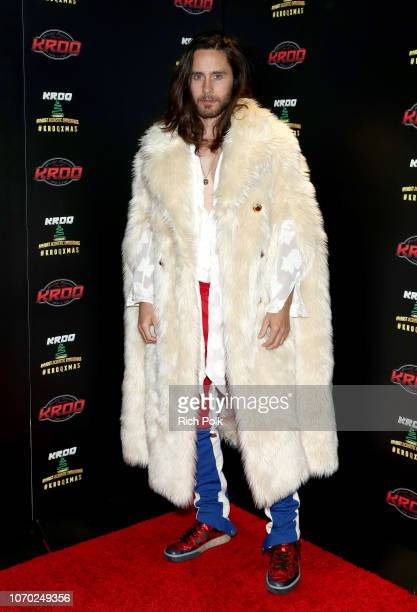 Jared Leto of Thirty Seconds to Mars attends the KROQ Absolut Almost Acoustic Christmas at The Forum on December 8 2018 in Inglewood California