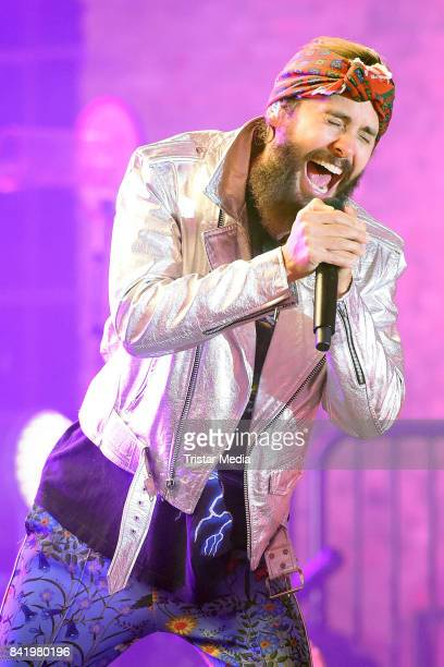 Jared Leto of Thirty Seconds to Mars performs during Telekom Street Gigs at Postbahnhof on September 2 2017 in Berlin Germany