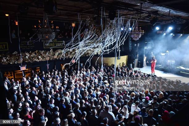Jared Leto of Thirty Seconds to Mars performs onstage during Citi Sound Vault Presents Thirty Seconds to Mars at Irving Plaza on January 24 2018 in...