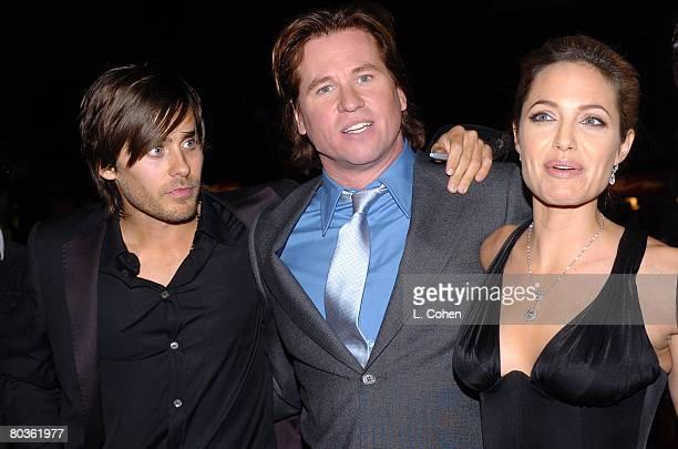 Jared Leto Val Kilmer and Angelina Jolie