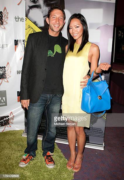 """Jared Morgenstem and Jenny Kim attend """"Trophy Kids"""" World Film Festival Premiere at Laemmle Sunset 5 Theatre on June 5, 2011 in West Hollywood,..."""