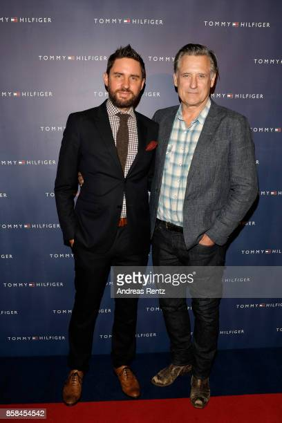 Jared Moshe and Bill Pullman attend the Tommy Hilfiger VIP Dinner in celebration of the 13th Zurich Film Festival on October 6 2017 in Zurich...