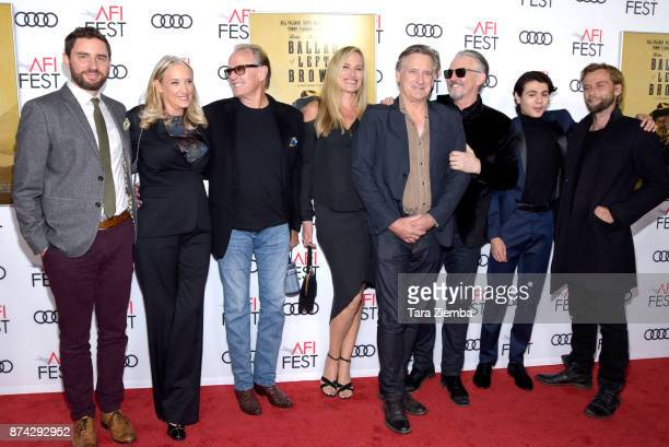 Jared Moshe Margaret DeVogelaere Peter Fonda Dina Livingston Bill Pullman Tommy Flanagan Diego Josef and Joe Anderson attend the screening of 'The...