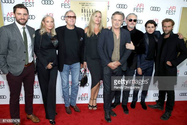 Jared Moshe Margaret DeVogelaere Peter Fonda Dina Livingston Bill Pullman Tommy Flanagan Diego Josef and Joe Anderson attend AFI Fest's Los Angeles...