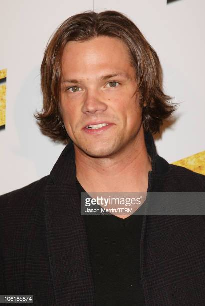 Jared Padalecki arrives at the premiere of Summit Entertainment's 'Never Back Down' at the Cinerama Dome on March 4 2008 in Hollywood California