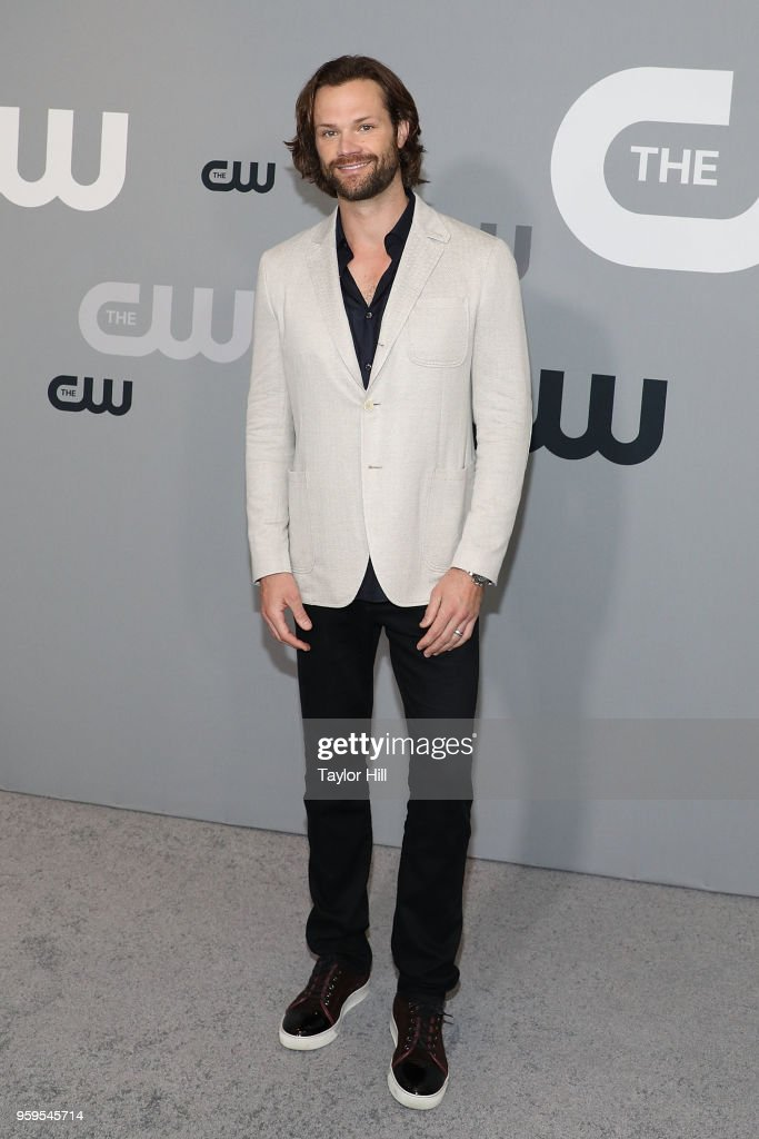 Jared Padalecki attends the 2018 CW Network Upfront at The London Hotel on May 17, 2018 in New York City.