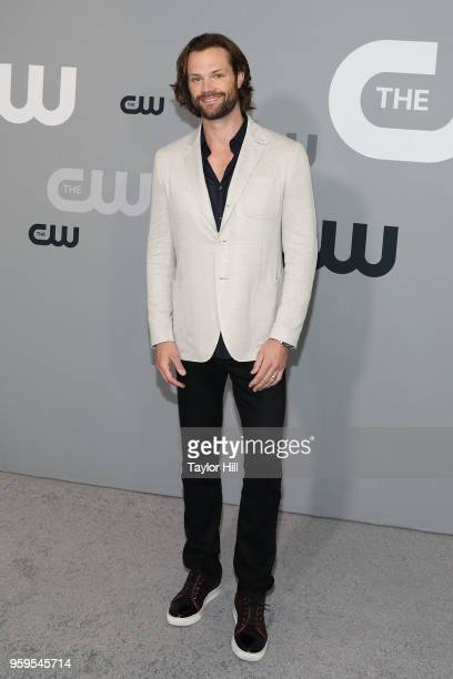 Jared Padalecki attends the 2018 CW Network Upfront at The London Hotel on May 17 2018 in New York City