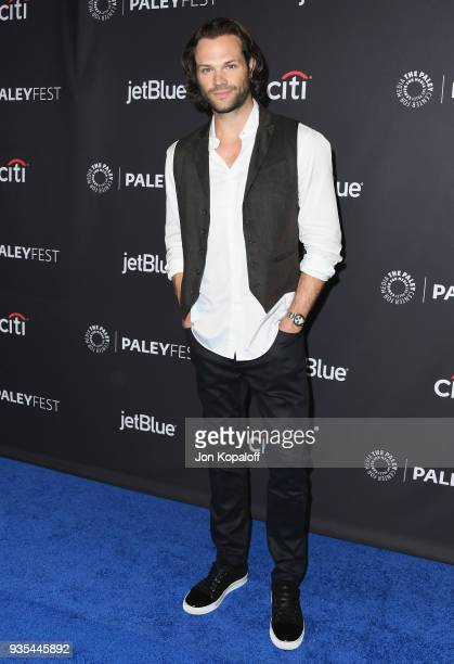 Jared Padalecki attends the 2018 PaleyFest Los Angeles CW's 'Supernatural' at Dolby Theatre on March 20 2018 in Hollywood California