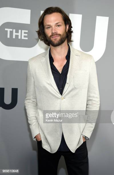 Jared Padalecki attends The CW Network's 2018 upfront at The London Hotel on May 17 2018 in New York City