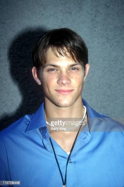 Jared Padalecki during 2001 Teen Choice Awards at Universal Amphitheater in Universal City California United States