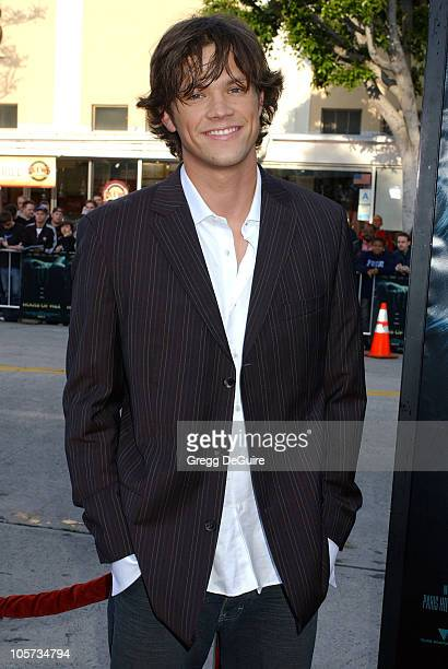 Jared Padalecki during House of Wax Los Angeles Premiere Arrivals at Mann Village Theatre in Westwood California United States