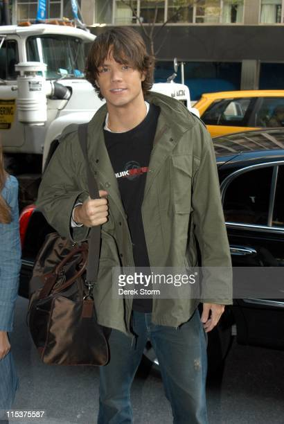 Jared Padalecki during Jared Padalecki Outside WB11 Morning News Studio May 4 2005 at WB11 Morning News Studio in New York City New York United States